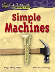 Cover of: Simple Machines by Vijaya Khisty Bodach