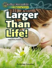 Cover of: Larger Than Life by Vijaya Khisty Bodach