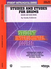 Cover of: Studies and Etudes for Drum, Level II | Saul Feldstein