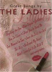 Cover of: Great Songs by the Ladies | Various Artists