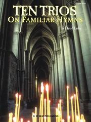 Cover of: Ten Trios on Familiar Hymns | David Lasky