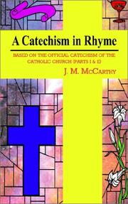Cover of: A Catechism in Rhyme | J. M. McCarthy