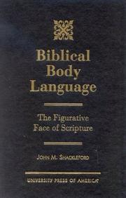Cover of: Biblical Body Language | John M. Shackleford