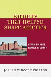 Cover of: Farmers that Helped Shape America | Joseph Collins