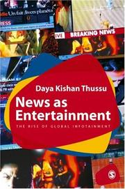 Cover of: Infotainment | Daya Kishan Thussu