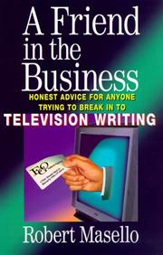 Cover of: A friend in the business | Robert Masello