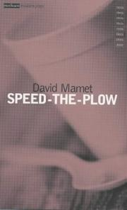 Cover of: Speed the Plow | David Mamet