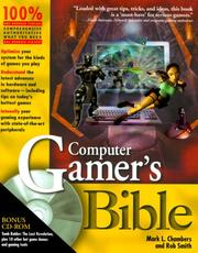 Cover of: Computer Gamer¬s Bible | Rob Smith