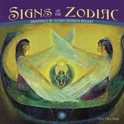 Cover of: Signs of the Zodiac, Paintings by Susan Seddon Boulet 2007 Mini Wall Calendar by Susan Seddon Boulet