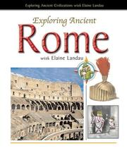 Cover of: Exploring Ancient Rome with Elaine Landau (Exploring Ancient Civilizations With Elaine Landau) | Elaine Landau