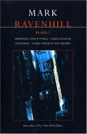 Cover of: Mark Ravenhill Plays: One by MARK RAVENHILL