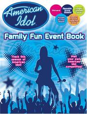 Cover of: American Idol Family Fun Event Book | Modern Publishing