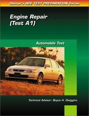 Cover of: ASE Test Prep Series -- (A1) | Delmar Publishers