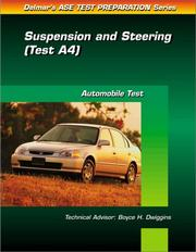 Cover of: ASE Test Prep Series -- (A4) | Delmar Publishers