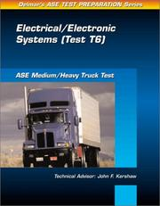 Cover of: ASE Test Prep Series -- Medium/Heavy Duty Truck (T6) | Delmar Publishers
