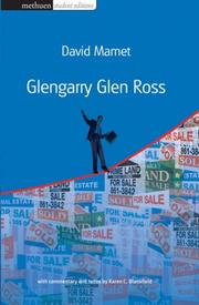 Cover of: Glengarry Glen Ross | David Mamet