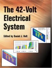 Cover of: The 42-Volt Electrical System (Pt (Series) (Warrendale, Pa.), 99.) | Daniel J. Holt