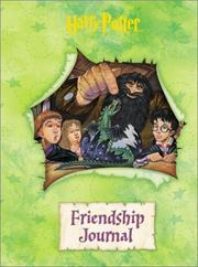 Cover of: Harry Potter Friendship Journal | Cedco Publishing