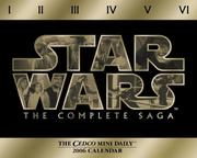 Cover of: Star Wars 2006 Calendar | Cedco Publishing