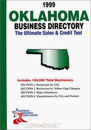 Cover of: 1999 Oklahoma Business Directory | infoUSA Inc.