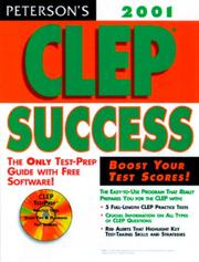 Cover of: Clep Success 2001 (Clep Success, 2001) by Peterson's
