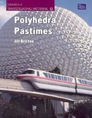 Cover of: Polyhedra Pastimes | Jill Britton