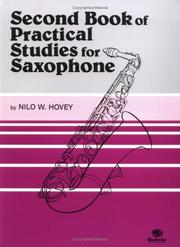 Cover of: Practical Studies for Saxophone, Book II | Nilo Hovey