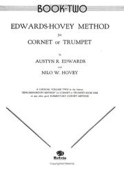 Cover of: Edwards-hovey Method for Cornet or Trumpet | Nilo Hovey