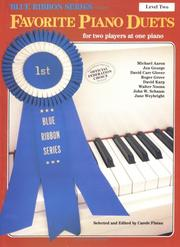 Cover of: Favorite Piano Duets / Volume 1 - Level 2 | Carole Flatau