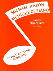 Cover of: Michael Aaron Piano Course / Book 2 (French) | Michael Aaron