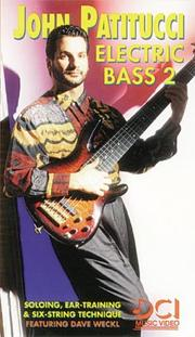 Cover of: Electric Bass 2 | John Patitucci