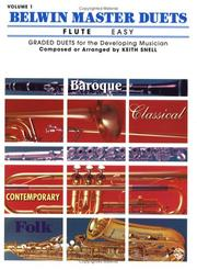 Cover of: Belwin Master Duets for Flute, Easy | Keith Snell