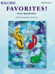 Cover of: Favorites | Carole Flatau
