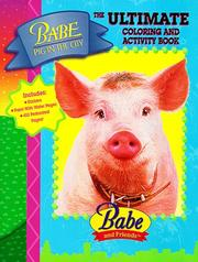 Cover of: Babe Pig in the City Coloring and Activity Book | Landoll