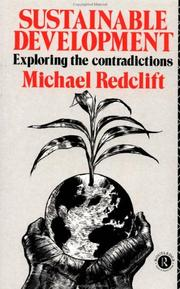 Cover of: Sustainable development | M. R. Redclift