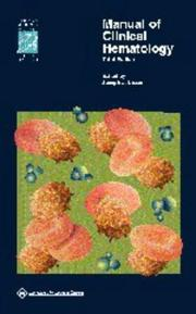 Cover of: Manual of Clinical Hematology by Joseph J Mazza