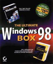 Cover of: The Ultimate Windows 98 Box: Expert Guide to Windows 98 | Mark Minasi