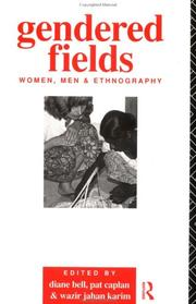 Cover of: Gendered Fields | Diane Bell