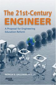 Cover of: The 21st-Century Engineer | Patricia D., Ph.D. Galloway
