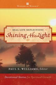 Cover of: Shining His Light (Real Life Reflections) | Pau S. Williams