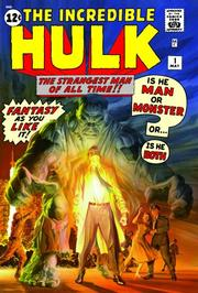 Cover of: The Incredible Hulk Omnibus Volume 1 | Jack Kirby