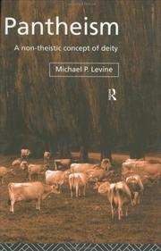 Cover of: Pantheism | Michael P. Levine