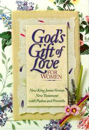 Cover of: God's Gift of Love for Women by Gods Gift