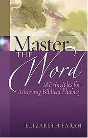 Cover of: Master the Word | Elizabeth Farah