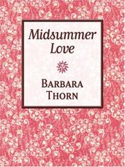 Cover of: Midsummer Love | Barbara Thorn