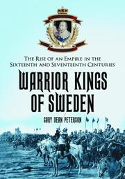 Cover of: Warrior Kings of Sweden by Gary Dean Peterson