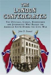 Cover of: The London Confederates | John D. Bennett