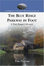 Cover of: Blue Ridge Parkway by Foot | Tim Pegram