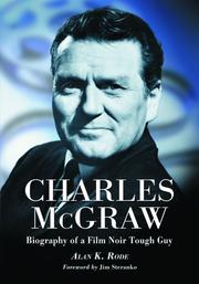 Cover of: Charles McGraw | Alan K. Rode