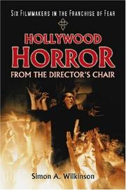 Cover of: Hollywood Horror from the Director's Chair | Simon A. Wilkinson